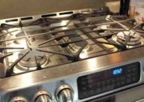 How to clean black ceramic gas stove top