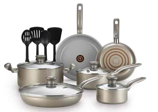T-fal G919SE64 initiatives ceramic non-stick toxic free cookware set