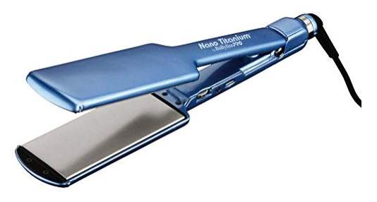 BaByliss PRO Nano Titanium-Plated Ultra-Thin Straightening Iron