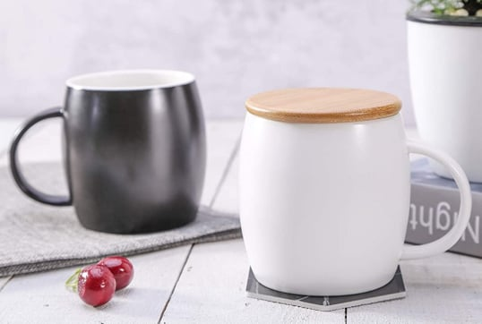 MACHUMA coffee mug set with lid