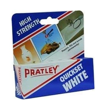 Pratley Quickset White Epoxy