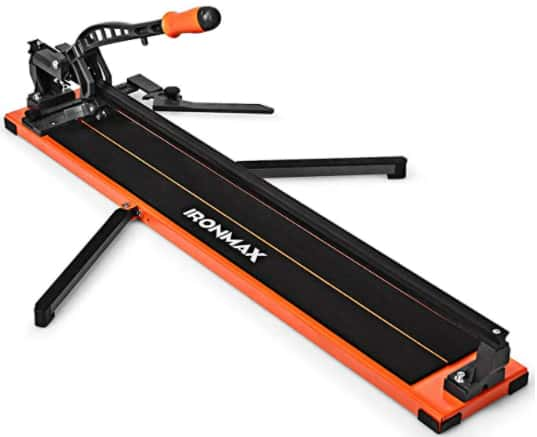 Goplus ceramic and porcelain tile cutter 36-inches