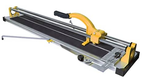 QEP 10900Q 35-inch manual tile cutter with tungsten carbide scoring wheel