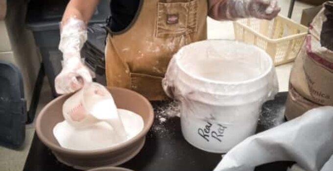 How to make a plaster mold for ceramics
