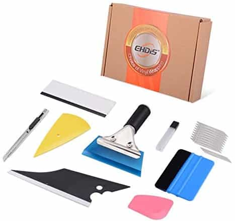 Tint Installing Tool, Film Cutters and Scrapers
