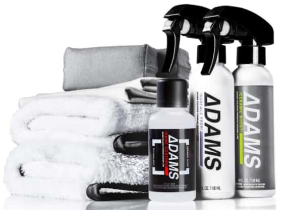 Adam's UV ceramic coating kit complete protection