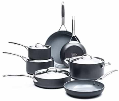 GreenPan Paris Pro Ceramic Non-stick Cookware Set