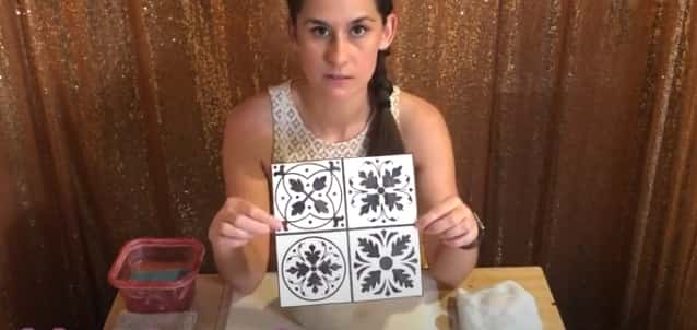 How to make ceramic tiles without a kiln