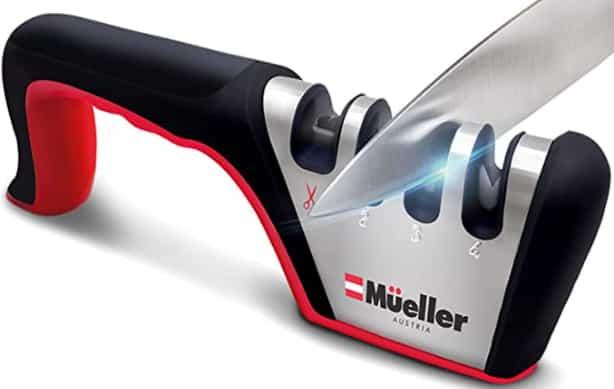 Best heavy duty Mueller Original Premium Knife Sharpener