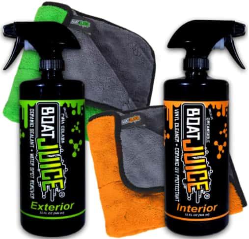 Best Ceramic UV Protectant Boat Juice Cleaner Kit