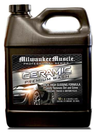 Best ceramic coating for cars Milwaukee Muscle Car Shampoo