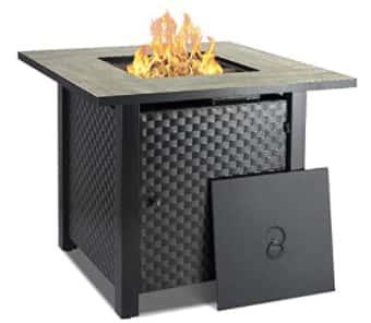 Best lava rock Camplux 30 Inch Propane Fire Pit Table